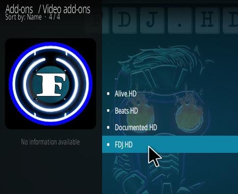 How To Install FDJ.HD Kodi Video Addon Step 17