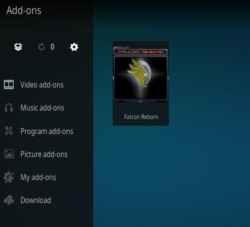 How To Install Falcon Reborn Kodi Addon Step 15