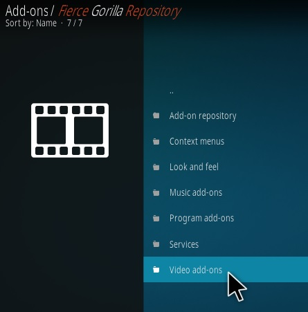 How To Install Fierce Gorilla Kodi Addon Step 16