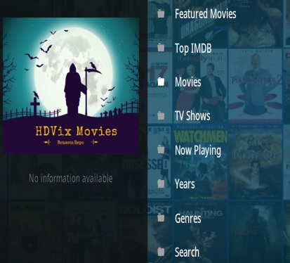 How To Install HDVIX Movies Kodi Addon Overview