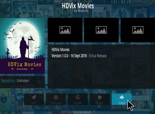 How To Install HDVIX Movies Kodi Addon Step 18