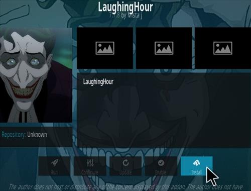 How To Install Laughing Hour Kodi Addon Step 18
