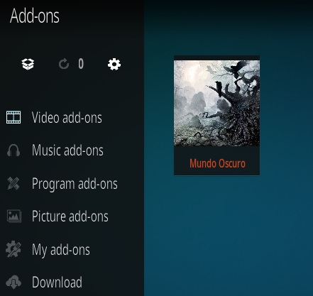 How To Install Mundo Oscuro (Dark World) Kodi Spanish Addon Step 16