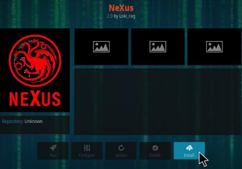 How To Install NeXus Kodi Addon Step 18