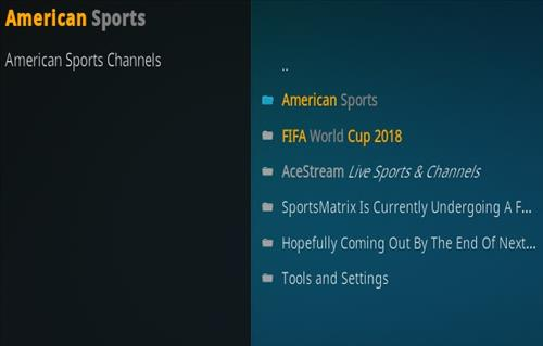 How To Install Sports Matrix Kodi Addon New URL Overview