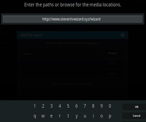 How To Install Steven TV Kodi Addon Step 5