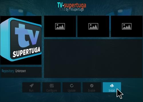 How To Install TV SuperTuga Kodi Addon Step 18