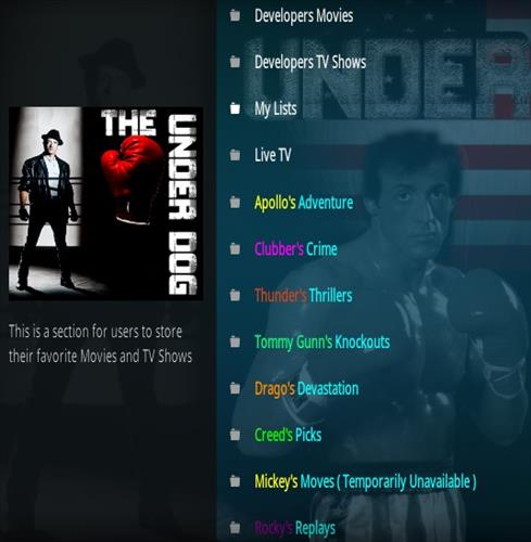 How To Install The Underdog Kodi Addon Overview