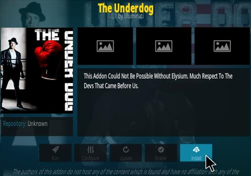 How To Install The Underdog Kodi Addon Step 18