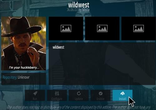 How To Install Wild West Kodi Addon Step 18