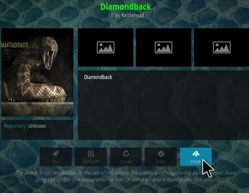 How to Install Diamondback Kodi Addon Step 18