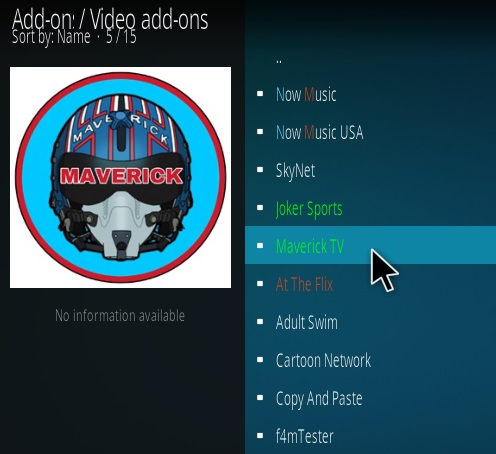 How to Install Maverick TV Kodi Addon New 777 Step 17