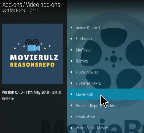 How to Install Movie Rulz Kodi Addon Step 17