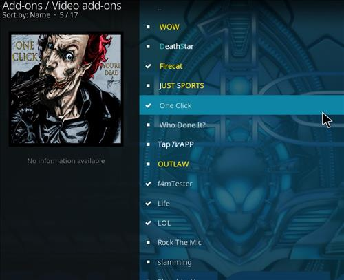 How to Install One Click Kodi Add-on 17