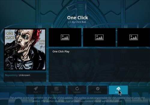 How to Install One Click Kodi Add-on 18