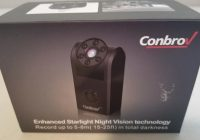 Conbrov 720P Hidden Mini Spy Camera with Night Vision and Motion Detection