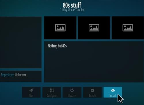 How To Install 80'S Stuff Kodi Addon Step 18