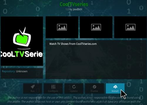 How To Install Cool TV Series Kodi Addon Step 18