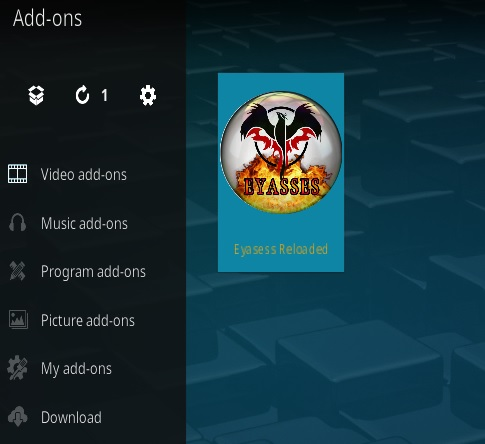 How To Install Eyasess Reloaded Kodi Addon Step 13