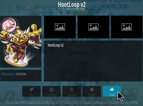 How To Install HootLoop V2 Kodi Addon Step 18