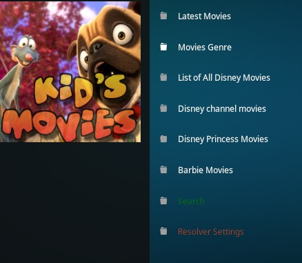 How To Install Kids Movies Kodi Addon Overview