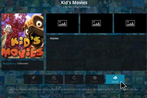 How To Install Kids Movies Kodi Addon Step 18