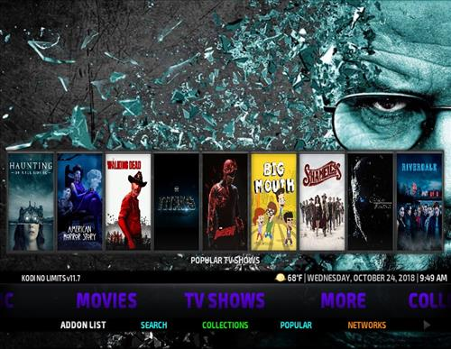 How To Install Kodi No Limits Magic Wizard Build New October 2018 Screenshot 5