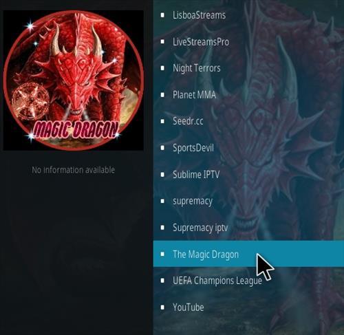 How To Install Magic Dragon New 1 Kodi Addon Step 17