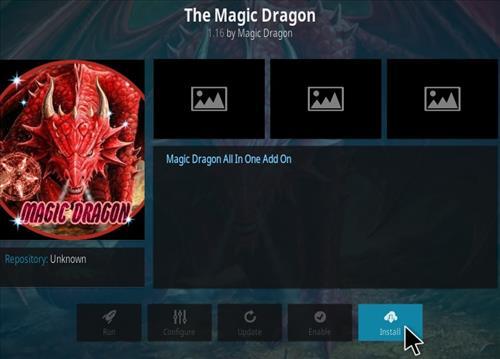 How To Install Magic Dragon New 1 Kodi Addon Step 18