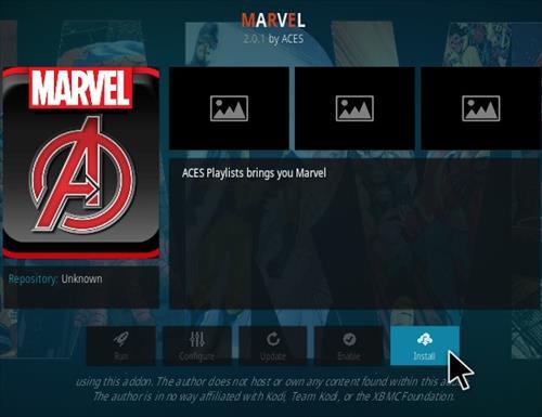 How To Install Marvel Kodi Addon Step 18