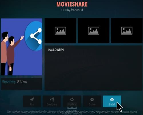 How To Install Movie Share Kodi Addon Step 18