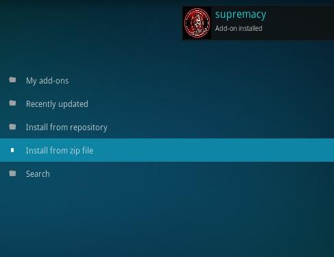How To Install Sumpramcy repo New Kodi Addon Step 13