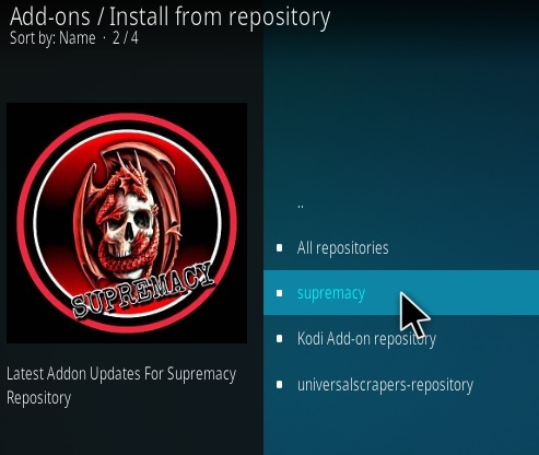 How To Install Sumpramcy repo New Kodi Addon Step 15