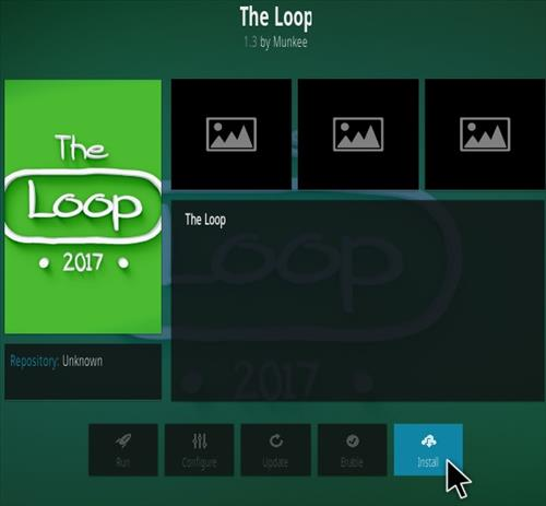 How To Install The Loop Kodi Addon Step 18