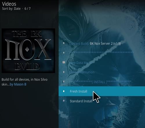 How to Install BK Nox Kodi Build New Updtaed 777 Step 18