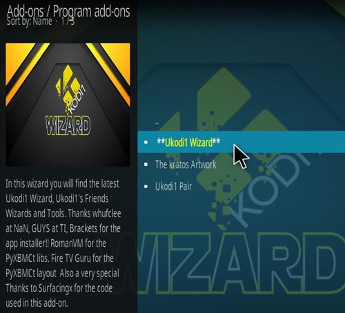 How to Install Dawn of the Future Kodi Build Step 17