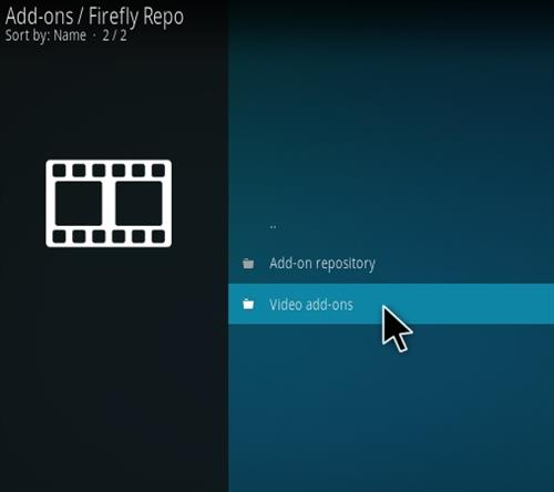 How to Install Firefly Kodi Addon Step 16