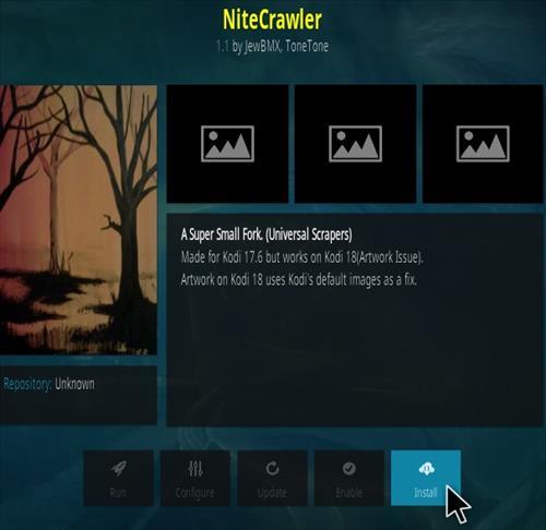 How to Install NightCrawler Kodi Addon Step 18