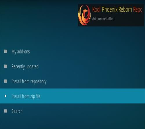 How to Install Phoenix Reborn IPTV Kodi Addon New Repo 1777 Step 13