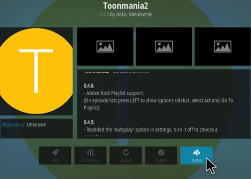 How to Install ToonMania 2 Kodi Addon Step 18