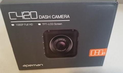 Review Apeman C40 Dash Camera 1080P Full HD Recorder