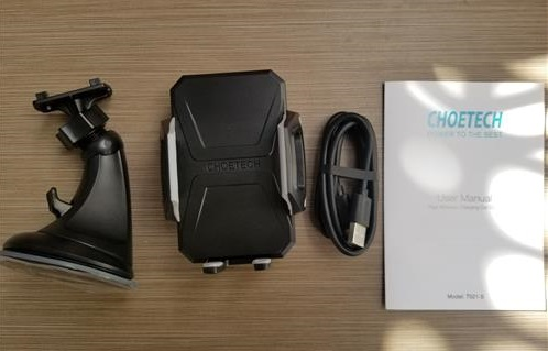 Review Chotech Fast Wireless Charging Car Dock ALL
