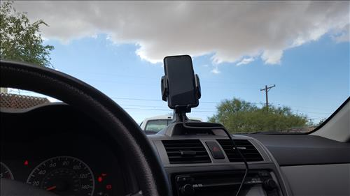 Review Chotech Fast Wireless Charging Car Dock In Car