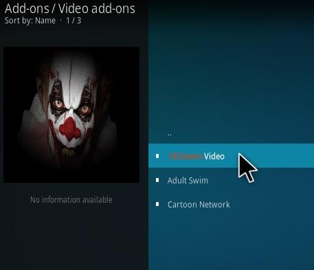 How To Install 13 Clowns Kodi Video Addon Step 17