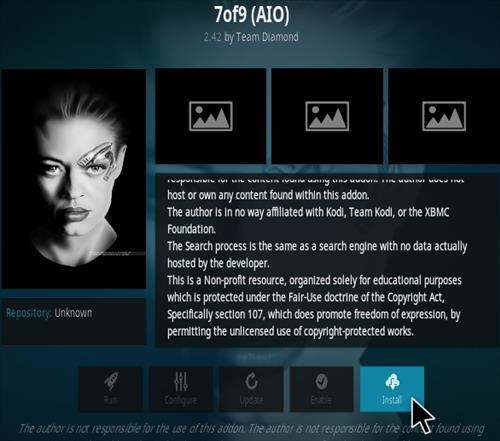 How To Install 7of9 Kodi Addon New Ver 7 Step 19