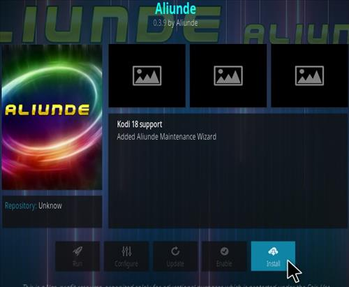How To Install Aliunde Kodi Addon New V URL Step 19