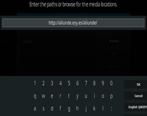 How To Install Aliunde Kodi Addon New V URL Step 5