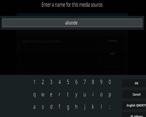 How To Install Aliunde Kodi Addon New V URL Step 6