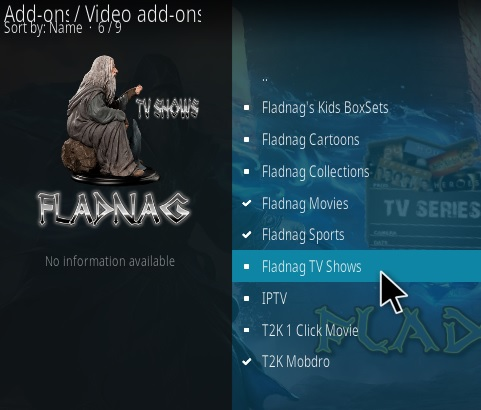 How To Install Fladnag TV Shows Kodi Addon Step 17