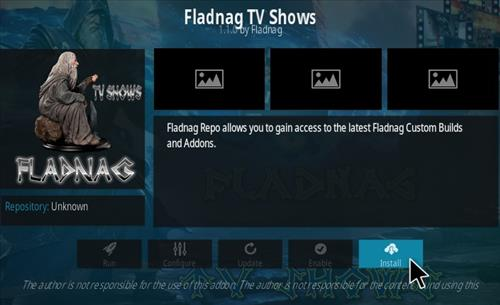 How To Install Fladnag TV Shows Kodi Addon Step 18